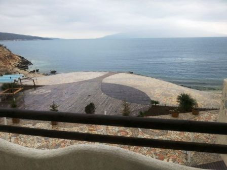 Modern villa for sale in Saranda, part of a well known compound of villas and apartments. The desig