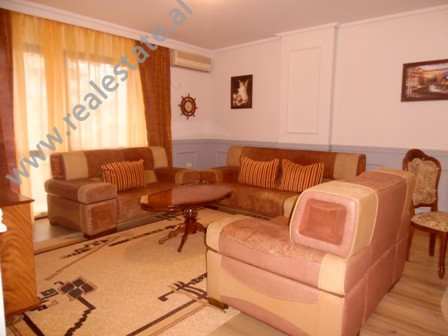 Apartment for rent in Ismail Qemali Street in Tirana.  It is situated on the 7-th floor in a new b