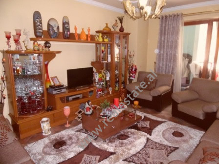 Two bedroom apartment for sale in Zogu i Pare Boulevard in Tirana. The apartment is situated on the
