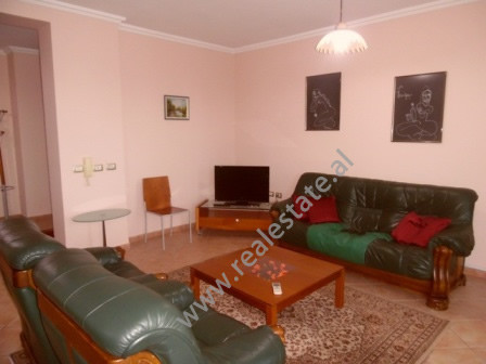Three bedroom apartment for rent in Sami Frasheri Street in Tirana.  The apartment is situated on