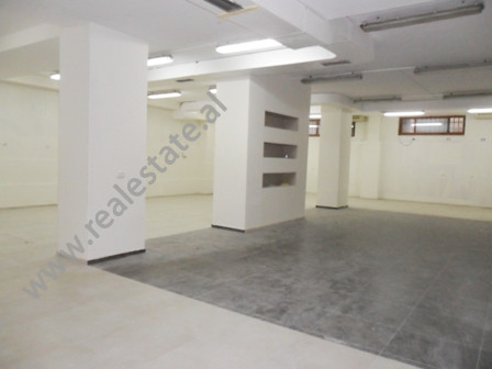 Store for rent near Xhorxhi Martini Street in Tirana.