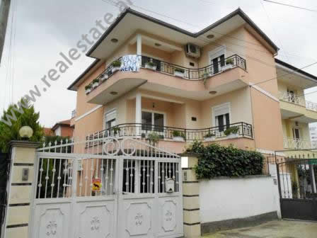 Villa for rent near Vilat Gjermane Street in Tirana.