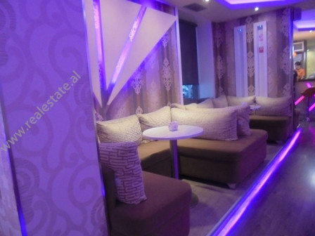 Coffee Bar for rent in close to Muhamet Gjollesha Street in Tirana. The property is situated