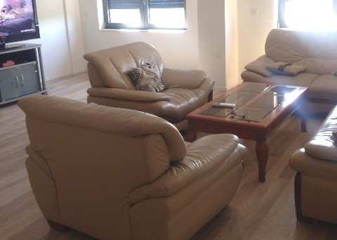 Two bedroom apartment for rent in Rilindja Square in Tirana.
