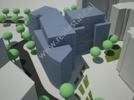 Apartamente per shitje ne krah te bulevardit Zhan D' Ark ne Tirane.  Pozicionohen ne nje zon