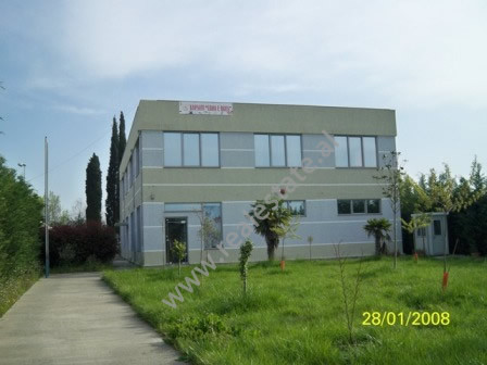 Two storey building for sale in Bubullima village in Lushnje. The building has 840 m2 of interior s