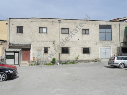 Warehouse for rent close to Siri Kodra Street in Tirana.