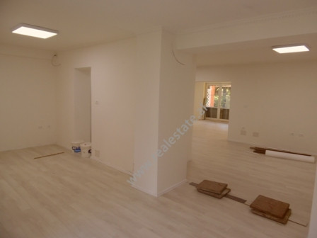 Office space for rent in Sander Prosi Street in Tirana. The office is situated on the ground floor