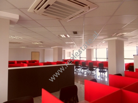 Office space for rent in Sami Frasheri Street in Tirana.