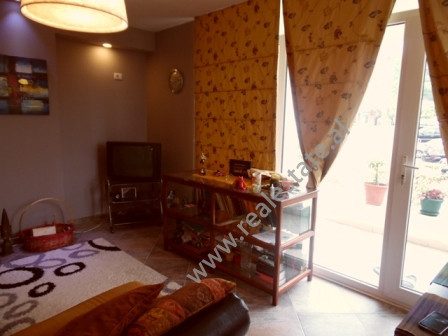 Two bedroom apartment for rent in Kodra Diellit Residence in Tirana. The apartment is situated on t