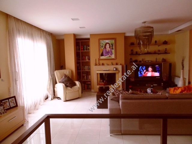 Duplex apartment for rent in Themistokli Germenji street in Tirana.