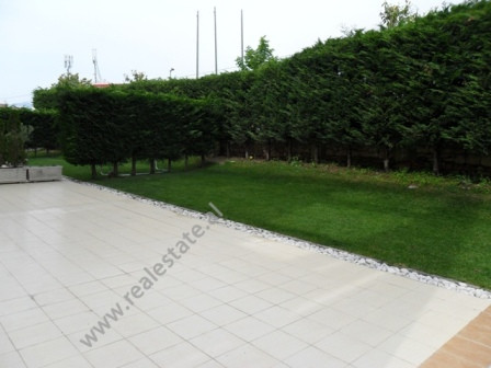 Apartment for rent in Touch of Sun Residence in Tirana. It is located on the first floor in a compl