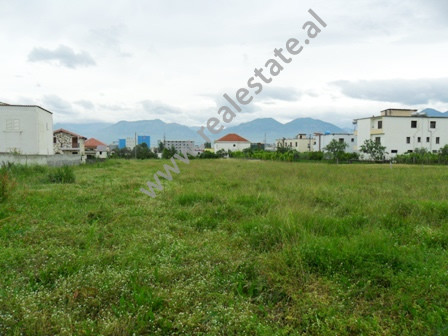 Land for sale in Bucia Street in Yrshek area, Tirana. It is located on the side of the main road wi