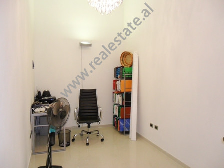 Office for rent near Elbasani Street in Tirana. It is situated on the 1-st floor in a new building