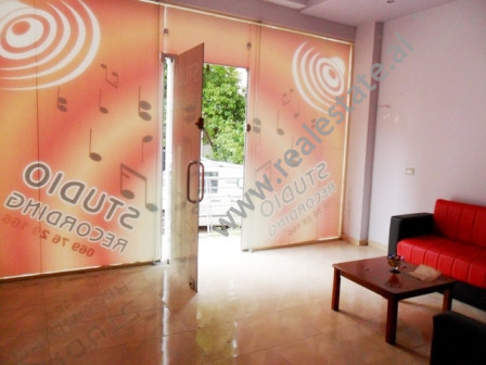 Store for sale around 200 meters away from Fresku Restaurant in Tirana. It is situated on the groun