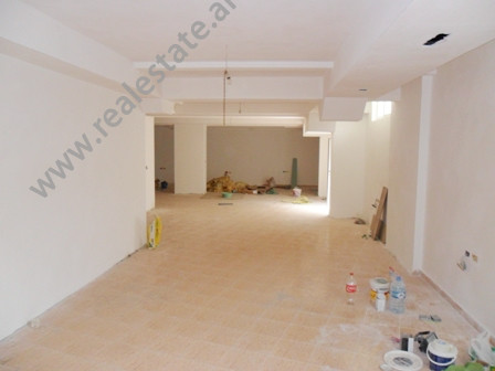 Store for rent in Adbulla Keta Street in Tirana. It is located on the basement in a new building, on