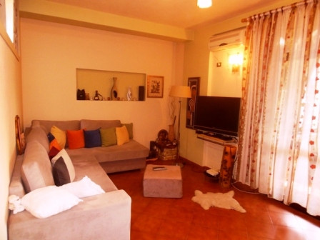 Two bedroom apartment for rent close to Blloku area in Tirana. The apartment is situated on the 8th