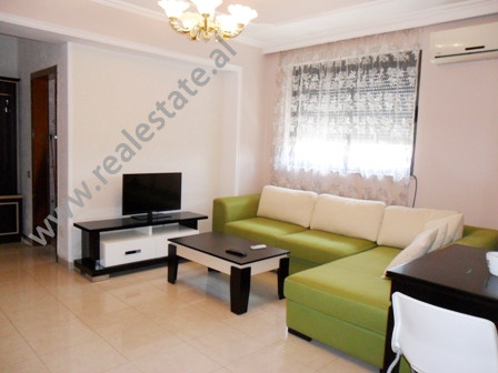 Apartment for rent in Perlat Rexhepi Street in Tirana. It is situated on the 6-th in a new building