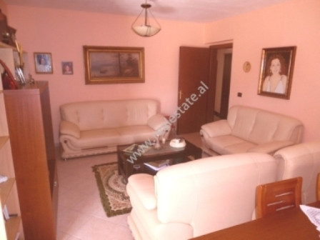 Two bedroom apartment for sale close to Hoxha Tahsim Street in Tirana. The apartment is situated on