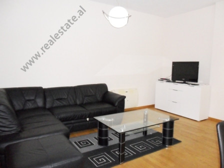 Apartment for rent in Touch of Sun Residence in Tirana. It is situated on the 2-nd floor in a new b