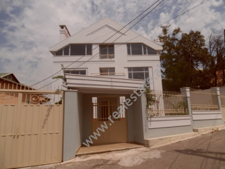 Three storey villa for rent close to Elbasani Street in Tirana.