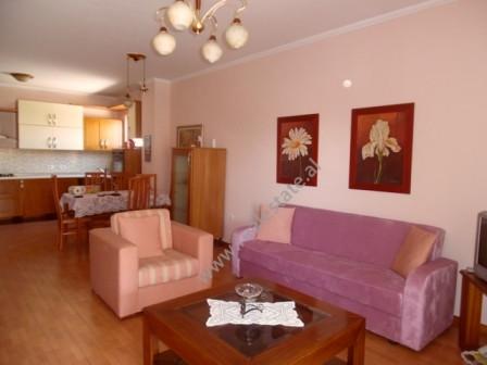 Apartament 2+1 me qera ne rrugen Themistokli Germenji ne Tirane.  Apartamenti ndodhet ne katin e 6