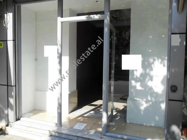 Store for rent in Bardhyl Street in Tirana.