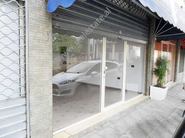 Store for rent near Mihal Duri Street in Tirana.