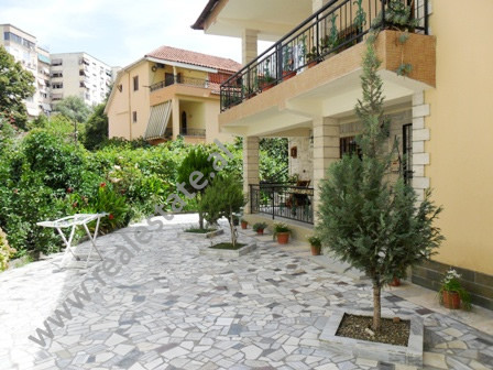 Apartment for rent in front of Big Park in Tirana. It is located on the 1-st floor of a 2-storey vi