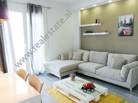 Modern apartment for rent in Selita e Vjeter Street in Tirana.