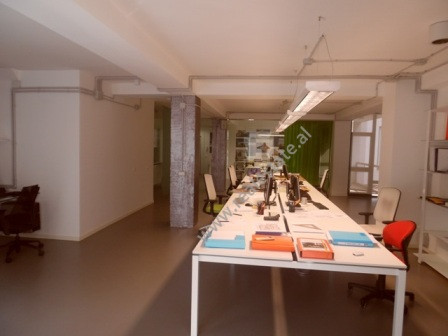 Property for business in Blloku area in Tirana. The property is located in a new building, in one o