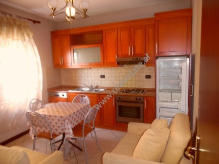 One bedroom apartment for rent in Xhezmi Delli Street in Tirana. The apartment is situated on the 4t