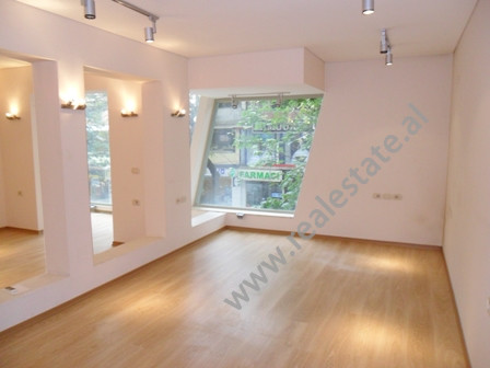Store for office for rent in Myslym Shyri Street in Tirana.