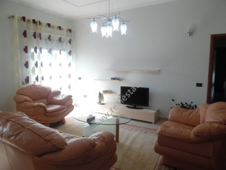 Apartment for rent in front of Aba Center in Tirana. It is situated on the forth floor of a 5 floor