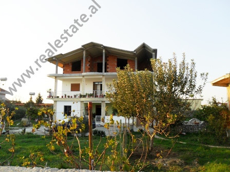 Three storey villa for sale in Albanet Street in Tirana, Albania.