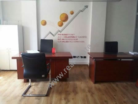 Office space for rent close to Rilindja Square in Tirana. The office is situated on the 1-st floor