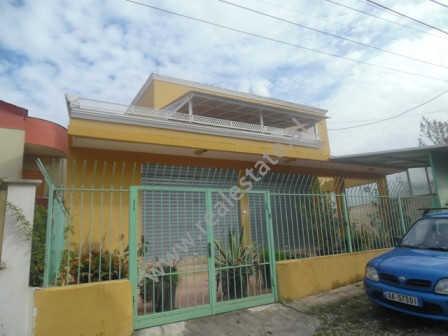 Two storey villa for sale close to Todi Shkurti Street in Tirana. It has 359 m2 of living space dis