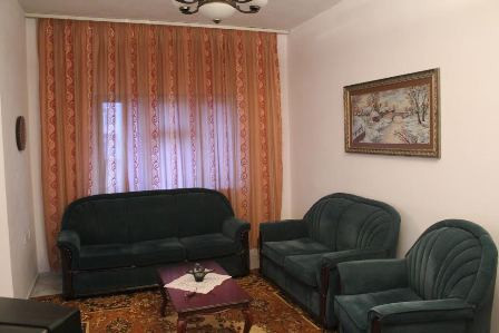 Two bedroom apartment in Avni Rustemi Square in Tirana, Albania.