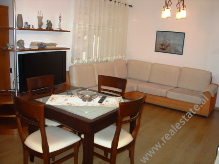 Three bedroom apartment for rent in Myslym Shyri Street.