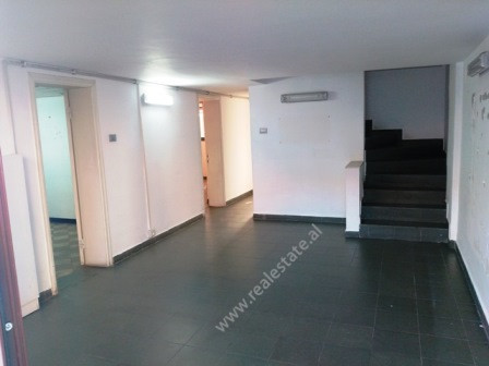 Office for rent close to Durresi Street in Tirana. It is situated on the first and second floor of