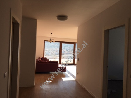 Four bedroom apartment for office for rent for rent in Tirana. The apartment is situated on the 7th