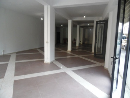 Store space for rent close to Myslym Shyri in Tirana.