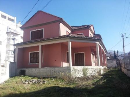 Two storey villa for sale in Emin Duraku street in Korca, Albania.