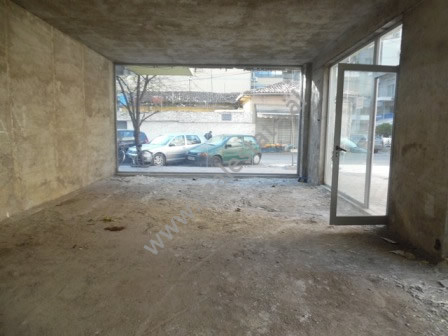 Store space for sale close to Kavaja street in Tirana. The store is situated on ground floor