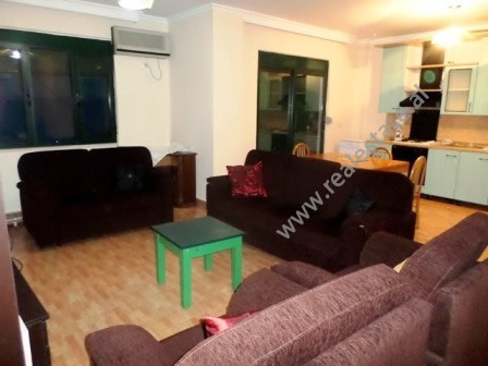 Two bedroom apartment for rent close to G-Kam Center in Tirana.