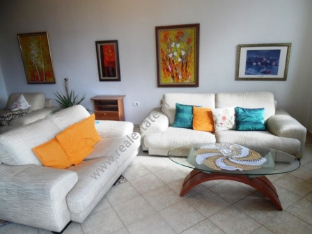 Two bedroom apartment for rent in George W. Bush Street in Tirana. This property is located in the
