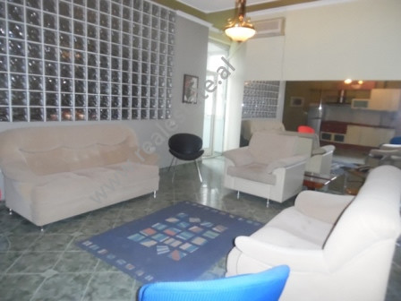 Two bedroom apartment for rent close to high school Gjuhet e Huaja in Elbasani street.