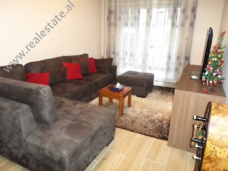 One bedroom apartment for rent in Lidhja Prizrenit Street in Tirana. It is situated on the 2-nd flo