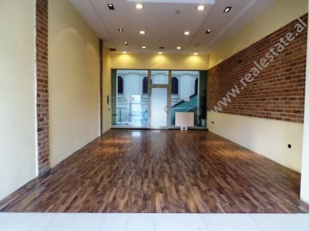 Office for rent in Bardhok Biba Street in Tirana. It is situated on the 2-nd floor of the building,