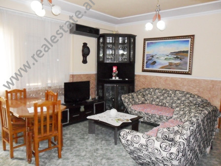 Apartment for rent close to Elbasani Street in Tirana. It is situated on the 4-th floor in a new bu